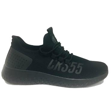 - CROSSHATCH TRAINERS - BLACK