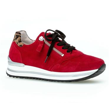 Gabor Nulon 56.528 Casual Shoe-RED