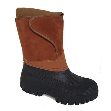 Snuggle Omey Ladies Velcro Wellie-Ginger