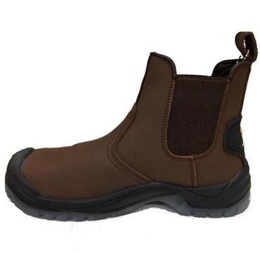 - PULL ON BOOT - BROWN