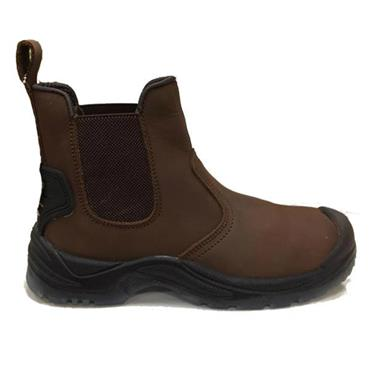 PULL ON BOOT-BROWN