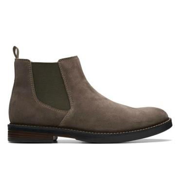 Clarks Paulson Up-Taupe Suede