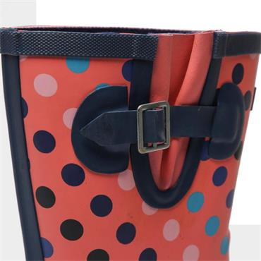 Ladies Cotswold Paxford Wellie-Dotty