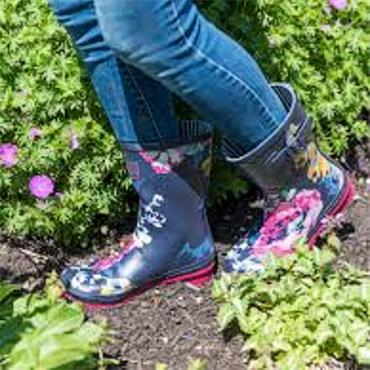 Ladies Cotswold Paxford Wellie-Flower