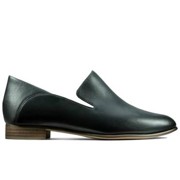 Clarks Pure Viola-Black Leather