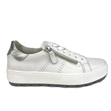 Gabor Quench Casual Shoe-White