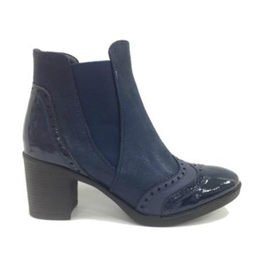 Redz Pull On Boot Cro13-05-NAVY