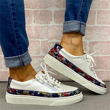 Softmode Reno Casual Shoe-White