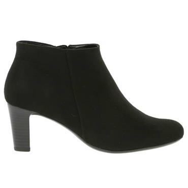 - GABOR RIPPLE 95.660 ANKLE BOOT - BLACK