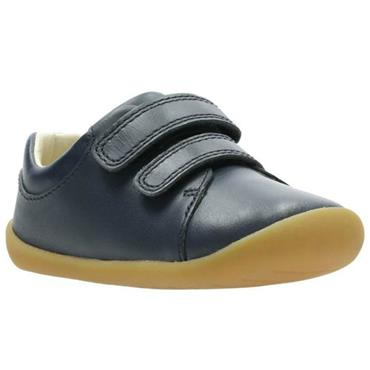 Clarks Roamer Craft T-Navy Leather