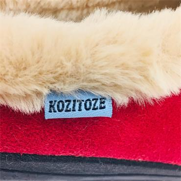 Ladies Kositoze Rose Slipper-RED