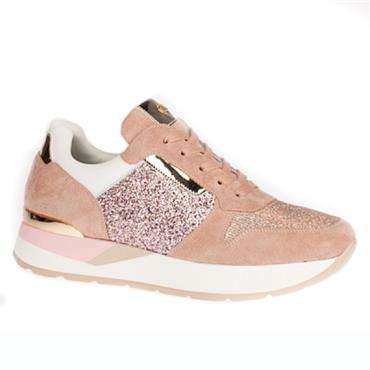 Una Healy Roses Casual Shoe-BLUSH
