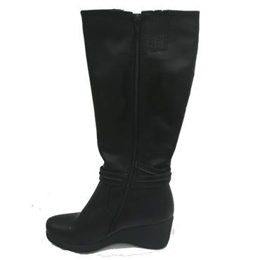 ZANNI LONG BOOT-BLACK