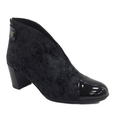Hispanitas Sarah Ankle Boot-BLACK