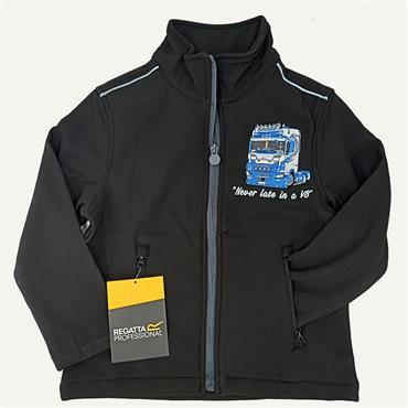 Mens Scania Jackets-Black Blue