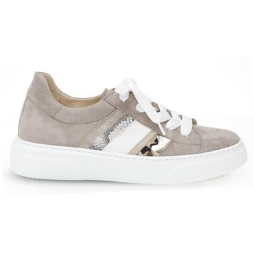 - Gabor Scenic 43.311 Casual Lace Shoe - TAUPE