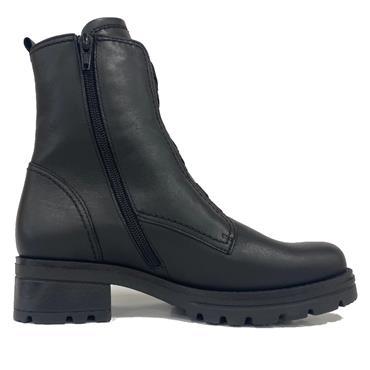Gabor Sea Ankle Boot-BLACK