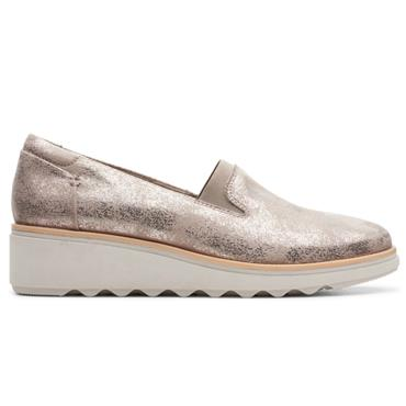 - Clarks Sharon Dolly - PEWTER