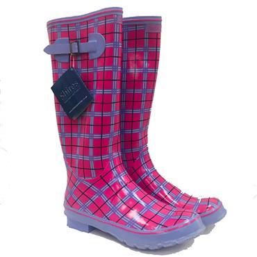 Shires Ladie's Wellington-Pink