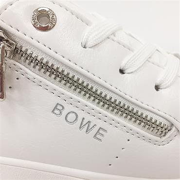 TOMMY BOWE SPENCE CASUAL SHOE-White Leather