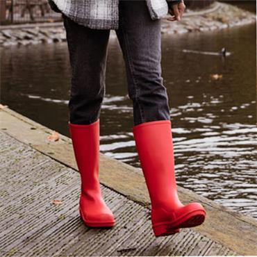 Splash Ladies Wellie-RED
