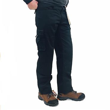 STANDSAFE WORK PANTS-BLACK