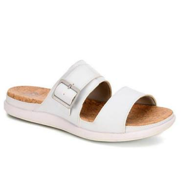 Clarks Step June Tide-White