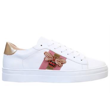 Redz Stride Casual Shoe-White