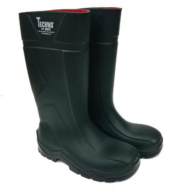 MENS TECHNO WELLINGTONS-GREEN