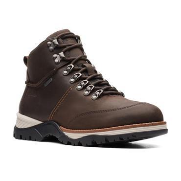 Clarks ToptonPine Waterproof Boot-BROWN