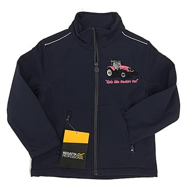 REGATTA TRACTOR JACKET-NAVY PINK