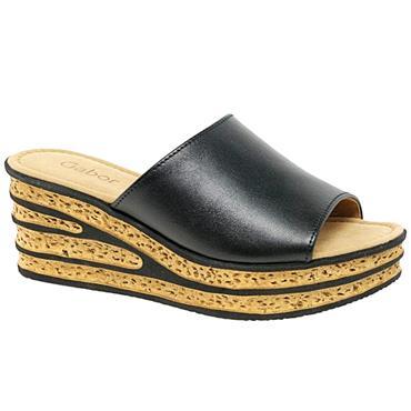 Gabor Trixie Mule Sandal 64.650-BLACK
