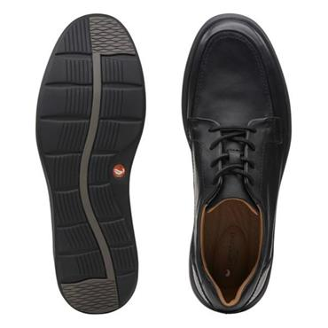 Clarks Un Abode Ease-Black Leather