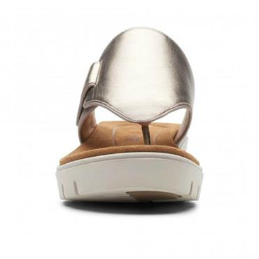 Clarks Un Karely Sea-Gold Metallic