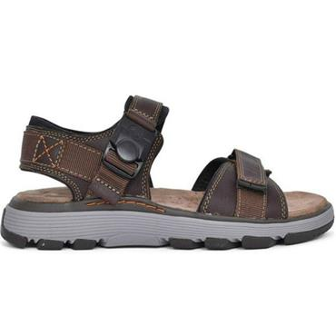 Clarks Un Trek Part-Dark Tan Lea