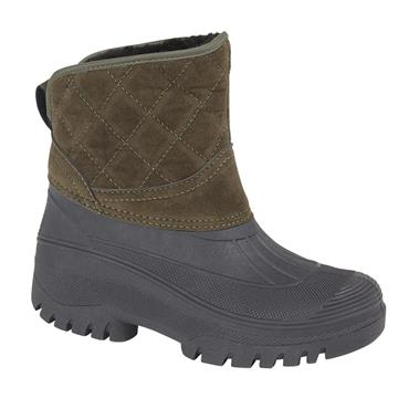 LADIES W003E SHORT WELLIE-KHAKI