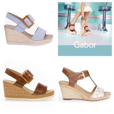 Gabor Wild 65.795 Sandal-PEANUT