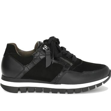 GABOR WILLETT 56.438 TRAINER-BLACK