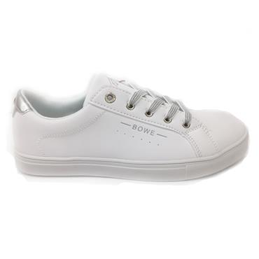 Tommybowe Woodman Casual Shoe-White Leather