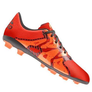 ADIDAS X15.4 FXG J FOOTBALL BOOTS-ORANGE