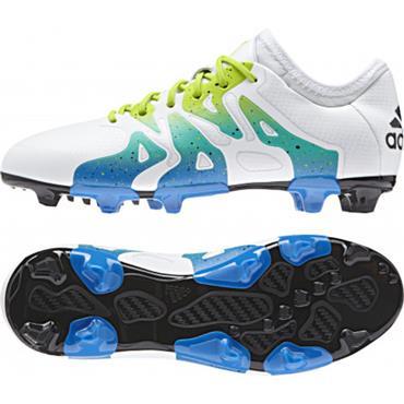 Adidas X15.3 Football Boots-White