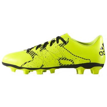 ADULTS ADIDAS X15.4 FOOTBALL BOOT-YELLOW