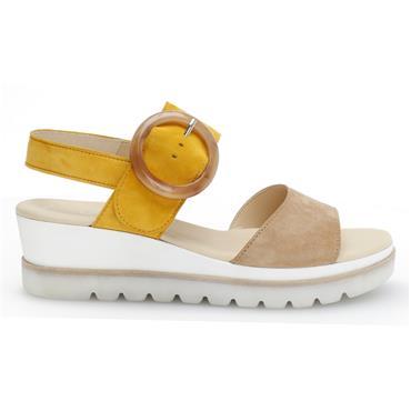- Gabor Yeo 44.645 Sandal - Caramel Mango