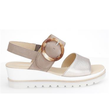 Gabor Yeo 44.645 Sandal-TAUPE