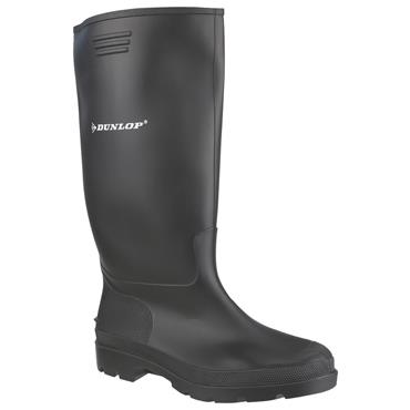 Youth Dunlop Wellie Sizes 4 To 8-BLACK
