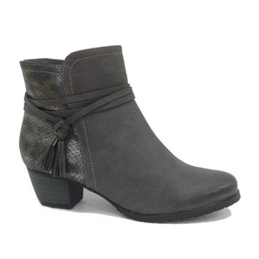 Yz2186-21 Redz Tassel Boot-Grey