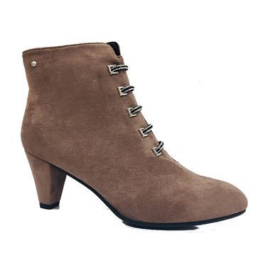 Zanni Zebdine Ankle Boot-TAUPE