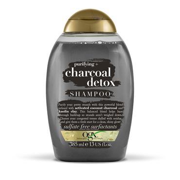 Organix Purifying Charcoal Detox Shampoo 385ml