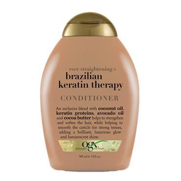 Organix Ever Straightening Brazilian Keratin Smooth Conditioner 385ml