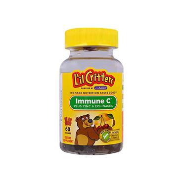 Lil Critters Immune C Plus Zinc Gummy Vitamins 60 Pack